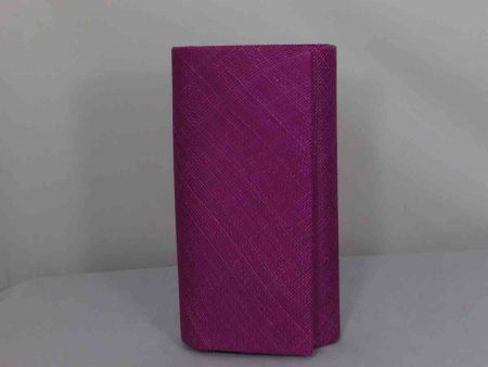 Simanay clutch bag magenta
