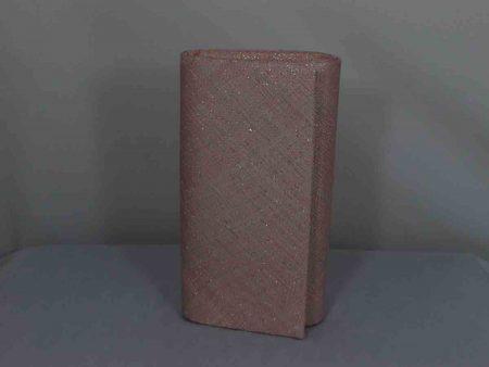 Simanay clutch bag light pink lurex
