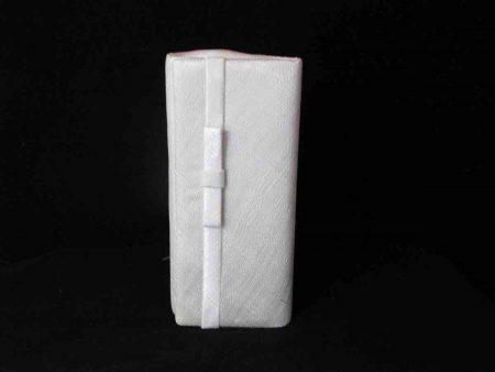 Sinamay bag in ivory