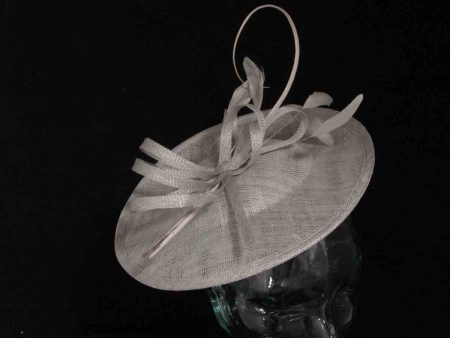 Hatinator with quill in mercury silver