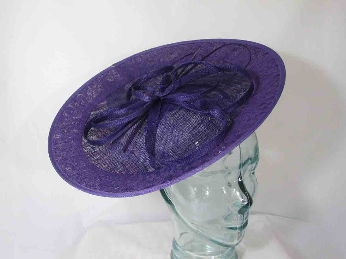 763421a6 Hatinator with lace detail in imperial purple. Home / Purples / Hatinator  with lace detail in imperial purple ...