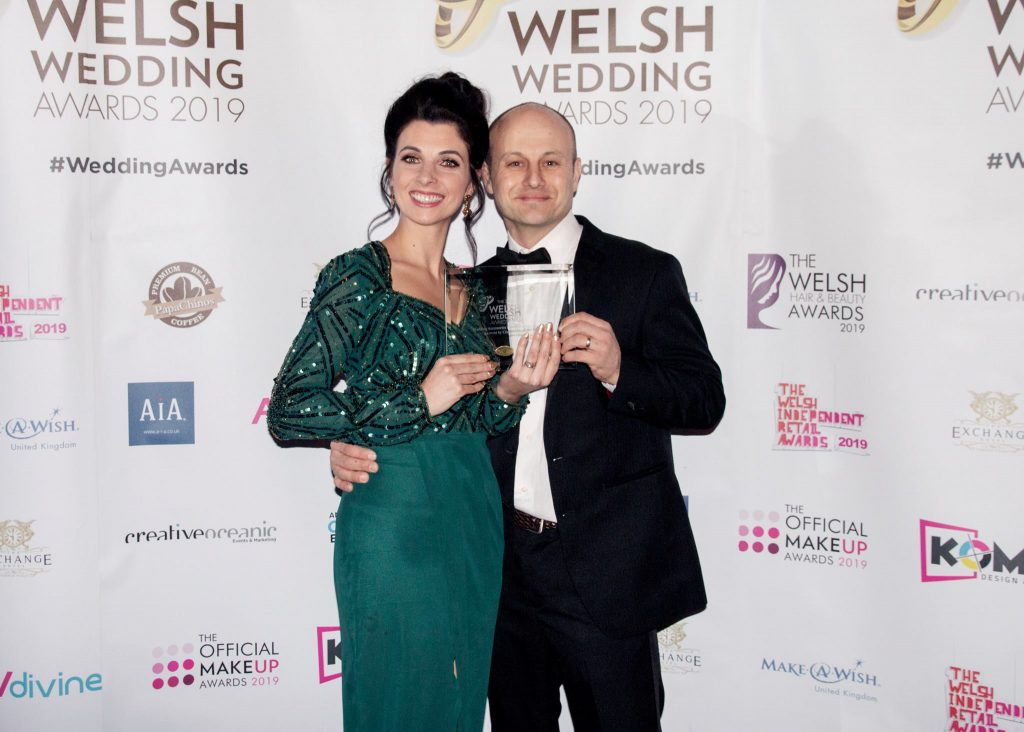 Welsh wedding awards winners