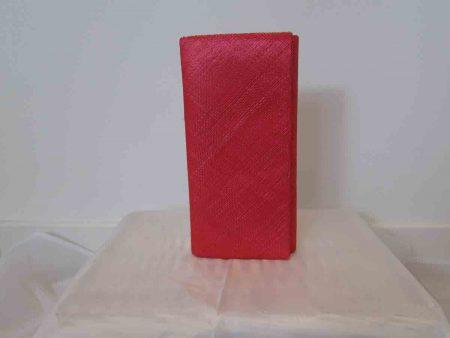 Simanay clutch bag bright coral