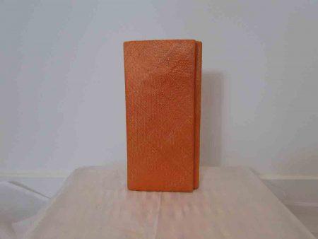 Simanay clutch bag melon orange