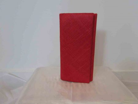 Simanay clutch bag red