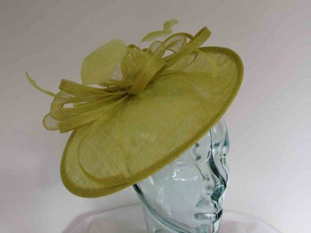 Small oval hatinator in citrus lime