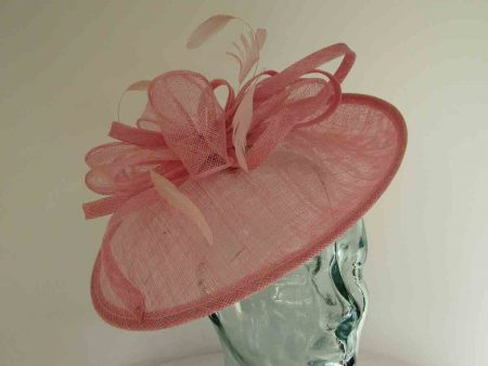 Small oval hatinator in confetti pink