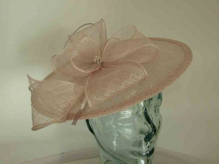 Simanay hatinator with flower in sorbet pink