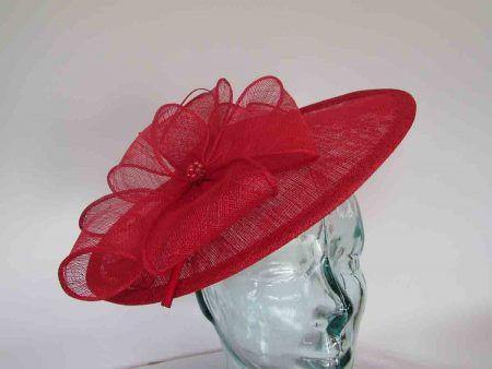 Simanay hatinator with flower in tulip red