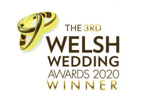 Welsh Wedding Awards winners logo - Love Fascinators