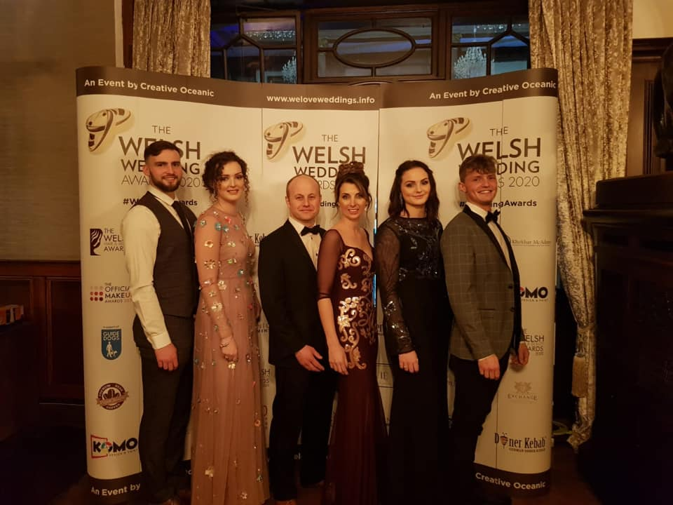 Welsh Wedding Awards winners - Love Fascinators team