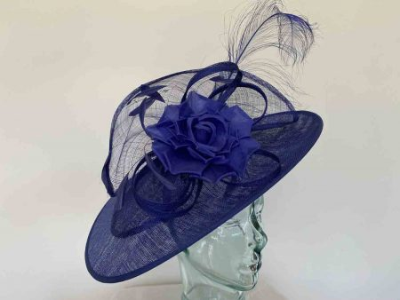Cobalt blue hataintor with flower